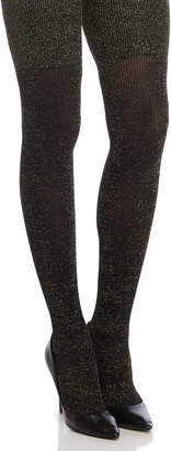 Pretty Polly Ribbed Lurex Over-the-Knee Socks