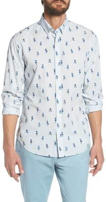 Bonobos Summerweight Slim Fit Hula Print Sport Shirt