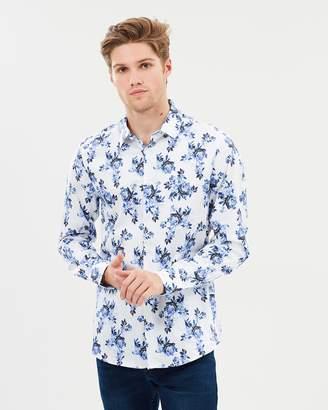 yd. Maui Floral Slim Fit Shirt