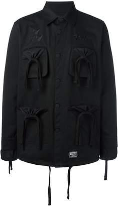 Kokon To Zai embroidered logo jacket