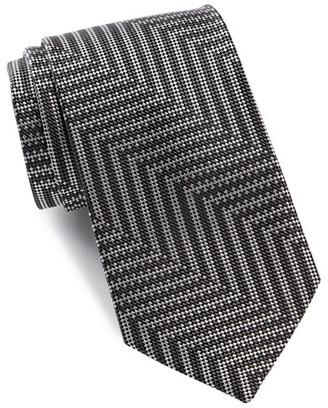 Bugatchi Mixed Stripe Silk Tie $79.50 thestylecure.com