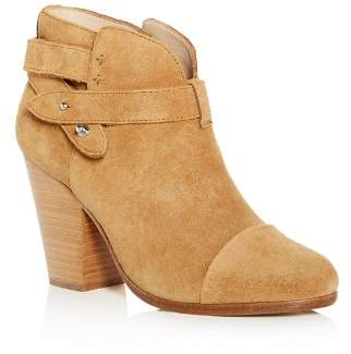 Rag & Bone Women's Harrow Suede High Block-Heel Booties