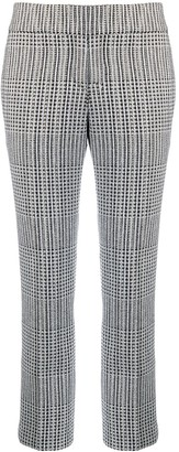 Ermanno Scervino check cropped trousers