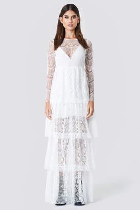 Sahara Ray X Na Kd Long Sleeve Lace Dress