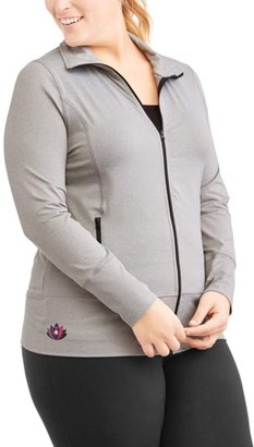 Hogan Ben Be Empowered Naturally Women's Plus Jacket