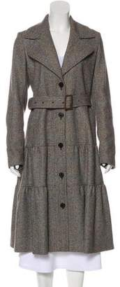 Burberry Long Wool Coat