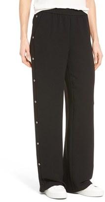 Women's Trouve Side Snap Track Pants $53.40 thestylecure.com