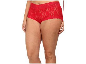 Hanky Panky Plus Size Signature Lace Solid New Boyshort