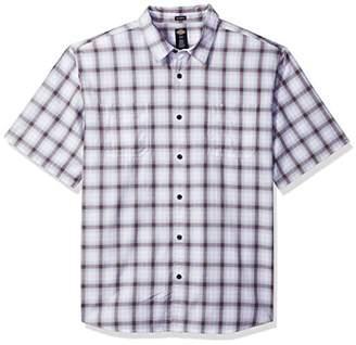 Dickies Men's Cotton Yarn Dyed Plaid Short Sleeve Shirt