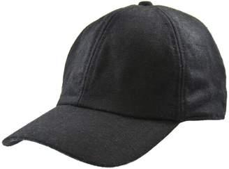 Black Brown 1826 Adjustable-Strap Baseball Cap