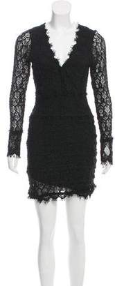 Nightcap Clothing Lace Long Sleeve Dress