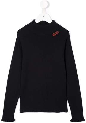 Familiar high neck sweater