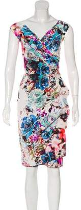 Chiara Boni Printed Sheath Dress