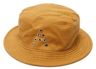 Acne Studios Buk A Cotton Twill Bucket Hat - Mens - Brown