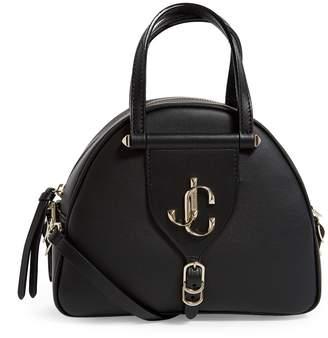 Jimmy Choo Small Leather Varenne Bowling Bag