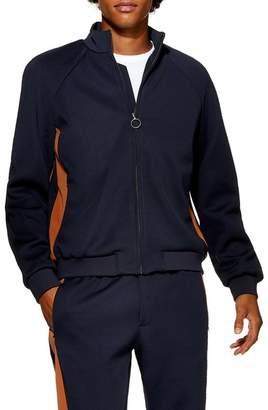 Topman Domino Revere Zip Jacket