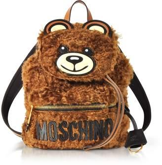 Moschino Teddy Bear Fleece Backpack