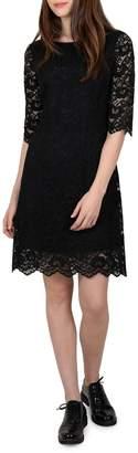 Molly Bracken Three-Quarter Sleeve Lace Dress