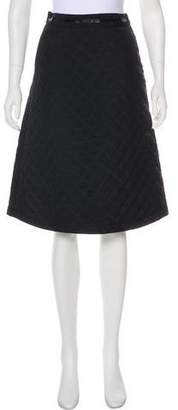 Trademark Quilted Knee-Length Skirt w/ Tags
