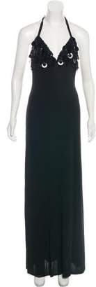 Jenny Packham Sleeveless Evening Dress