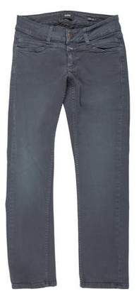 Closed Low-Rise Cropped Jeans