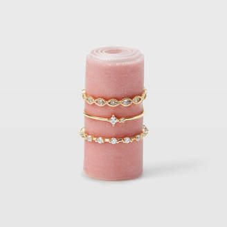 Club Monaco Serefina Stacking Ring Set