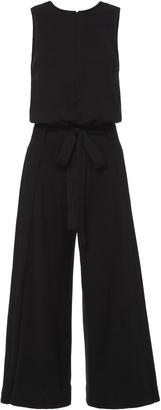 Inhabit Tie Waist Cropped Knit Jumpsuit $468 thestylecure.com
