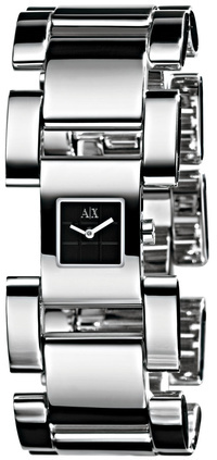 Modern Square Link Watch
