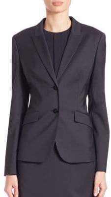 HUGO BOSS Pinstripe Wool Jacket