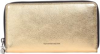 Alexander McQueen Zip Around Wallet