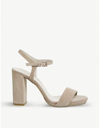 Office Hazzard slim platform-heeled sandals