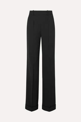 Altuzarra Gavi Wool-blend Wide-leg Pants - Black