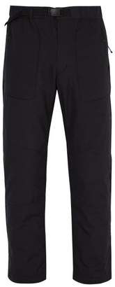 Snow Peak - Octa Buckled Padded Trousers - Mens - Black