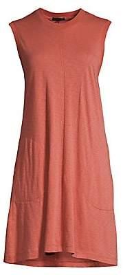 ATM Anthony Thomas Melillo Women's Slub Jersey Tank Dress