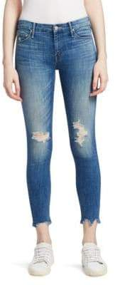 Mother The Looker Distressed Jeans