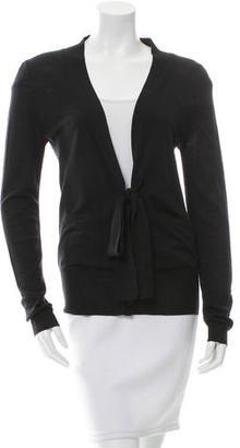 Vera Wang Wool V-Neck Cardigan $75 thestylecure.com
