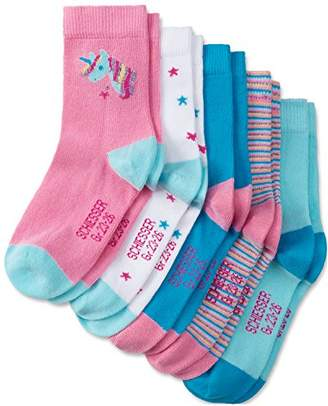 Schiesser Girl's Calf Socks Pack of 5