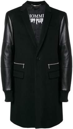 Philipp Plein single-breasted coat
