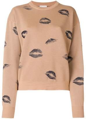 Sonia Rykiel kiss print jumper