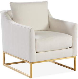 Robin Bruce Skyler Accent Chair - Bone White Crypton
