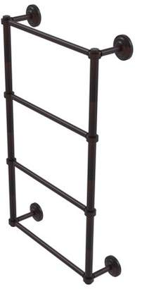Q.U.E Allied Brass New Collection 4 Tier 24 Inch Ladder Towel Bar