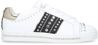 Carvela Leather Embellished Larkin Sneakers