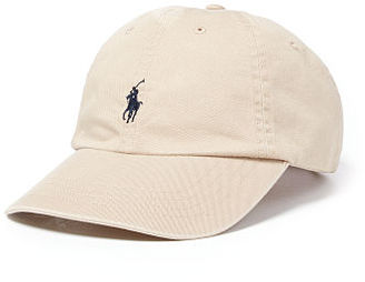 Polo Ralph Lauren Cotton Chino Sports Cap $39.50 thestylecure.com