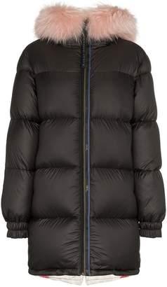 Mr & Mrs Italy interior puffer coat
