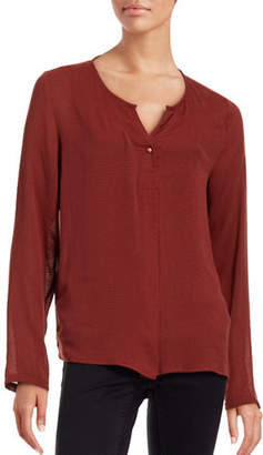 B. Young Gersemi Open Neck Blouse