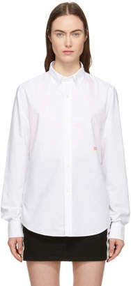 Acne Studios White Ohio Face Shirt