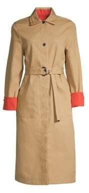 Maje Gemma Trench Coat