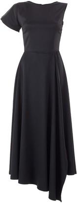 Emelita Long Black Maxi Dress
