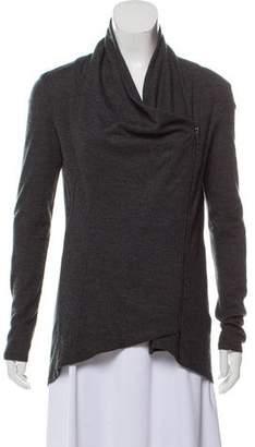 Helmut Lang Zip-Up Wool Sweater