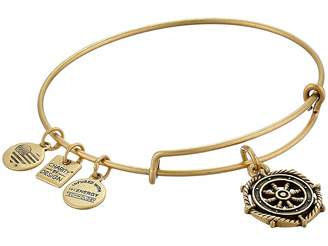 Alex and Ani Charity by Design Take the Wheel Charm Bangle Bracelet